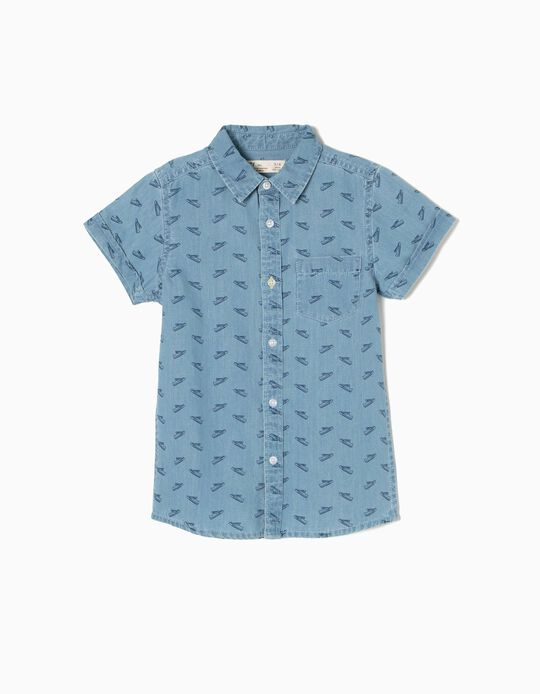 Camisa Manga Curta de Ganga