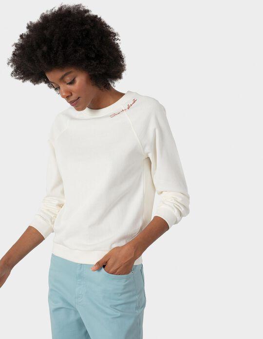 Organic Cotton Sweatshirt, Women