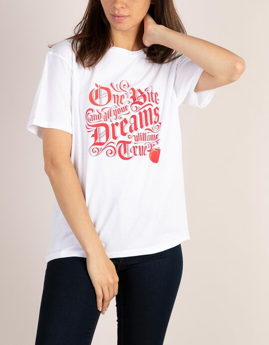 T-shirt Branca de Neve