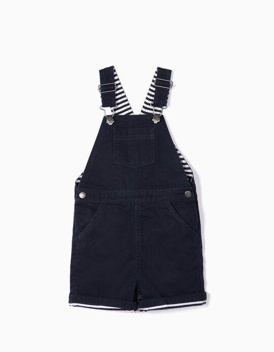 Dungarees for Baby Boys, Dark Blue