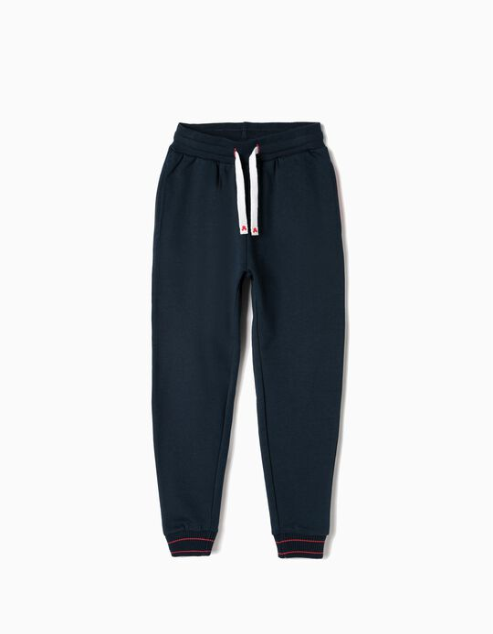 Joggers for Boys 'Mickey', Dark Blue