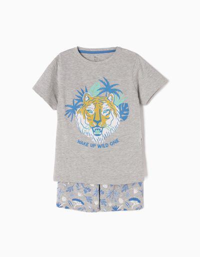 Pijama Manga Curta Wild One