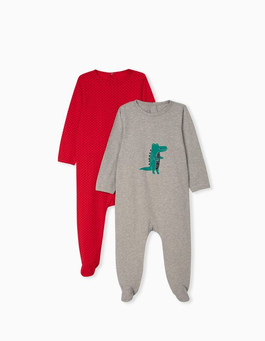 2 Sleepsuits for Baby Boys
