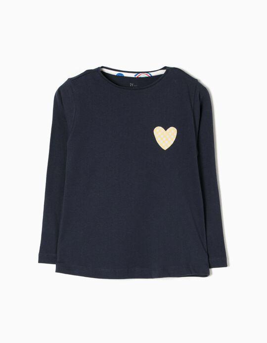 T-shirt Manga Comprida Heart