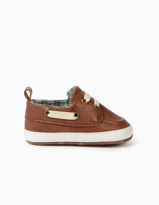 Shoes for Newborn Boys, Brown
