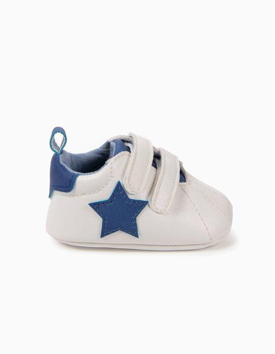 Sapatilhas Pre-Walker Estrelas Azuis