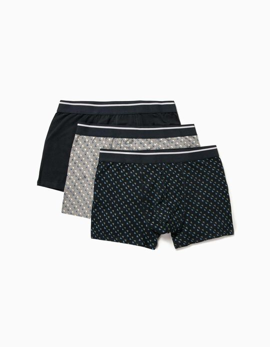3 Assorted boxer shorts