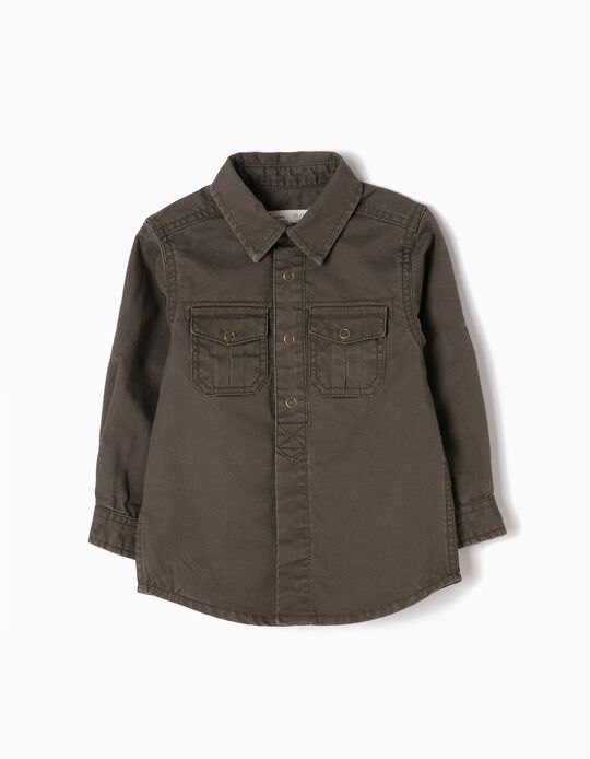 Overshirt, Green Samurai