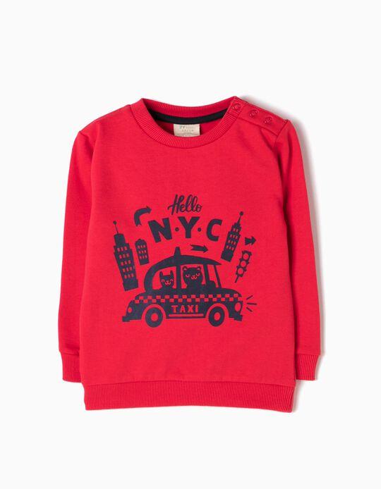 Red Sweatshirt, NYC