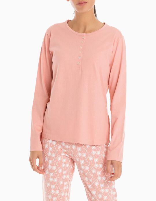 T-Shirt Mangas Compridas Pijama