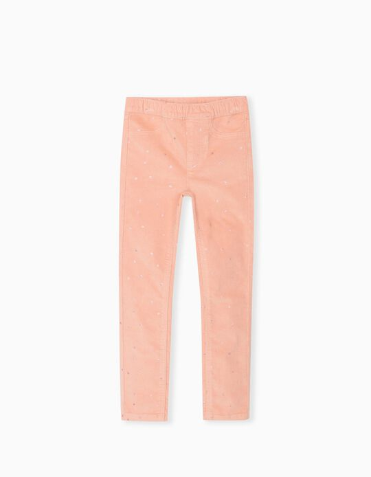 Dotted Trousers, Girls, Pink