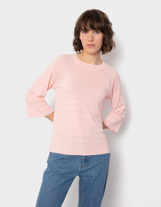 Fine Knit Jumper, Pink
