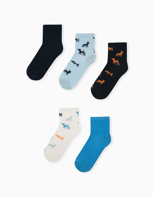 5 Pairs of Assorted Socks for Children