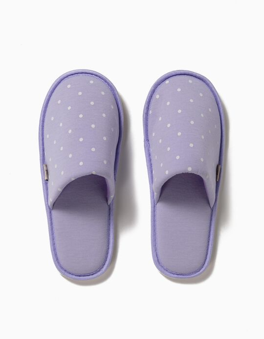 Dotted Bedroom Slippers, for Women