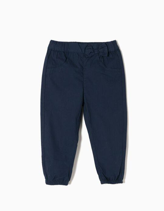 Calças Azul Escuro
