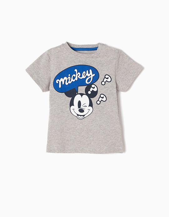 T-shirt Cinzenta Mickey