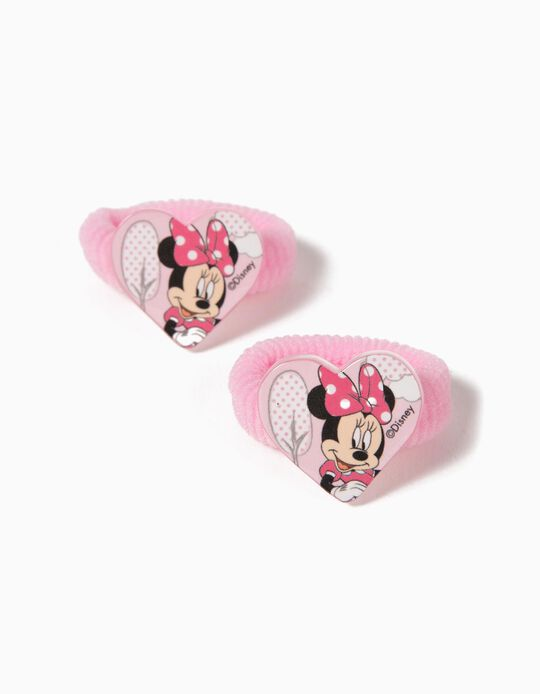 Pack to 2 Elastic Bands, Minnie