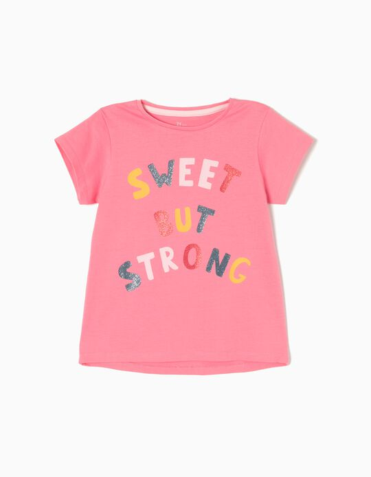 T-shirt Strong Rosa
