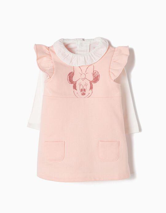 Bodysuit-Dress & T-Shirt Set, Minnie