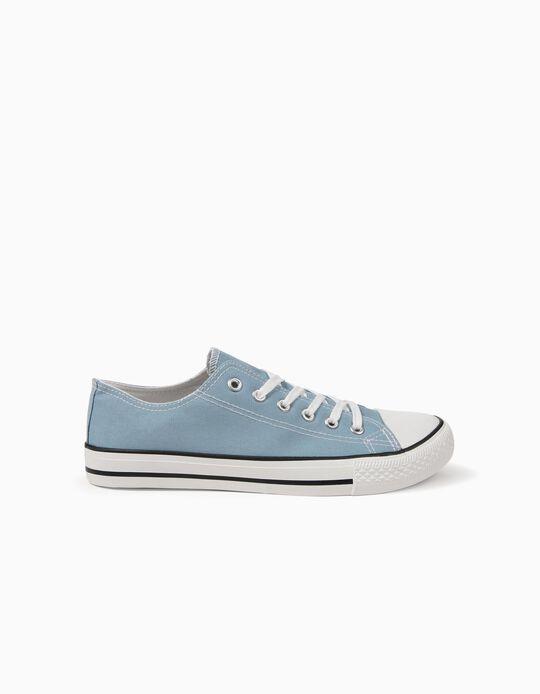 2a6c12c0a Sapatilhas Azuis Claras