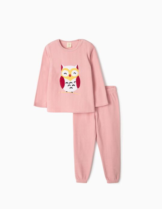 Polar fleece pyjamas Owl