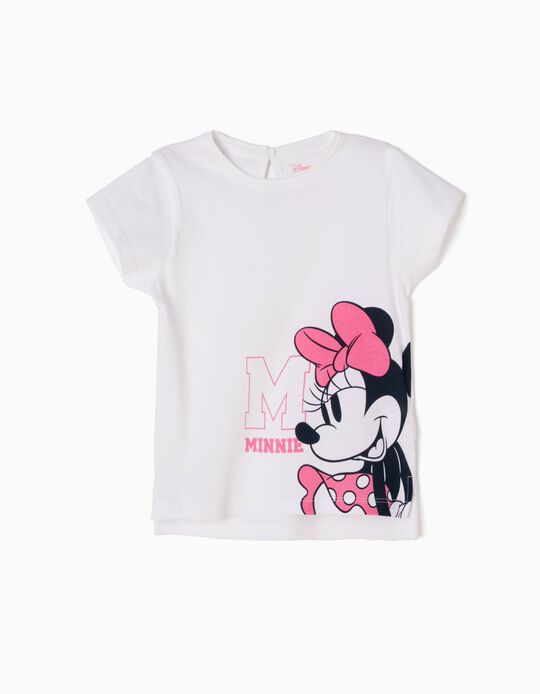 White T-Shirt, Minnie