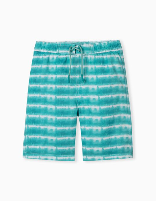 Striped Swim Shorts, Boys