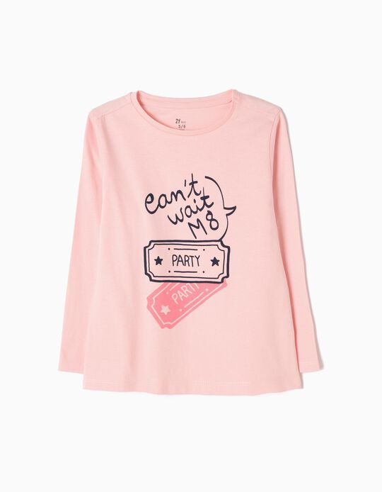 Pink Long-Sleeved Top, Party