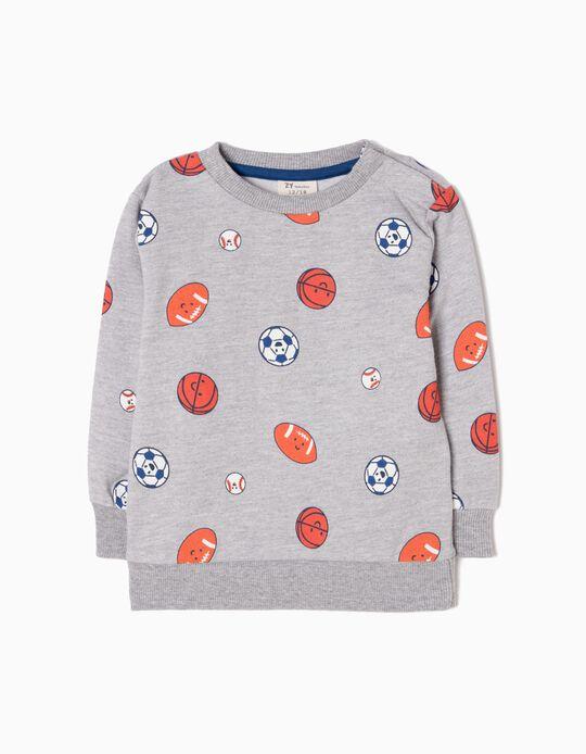 Grey Sweatshirt, Sports