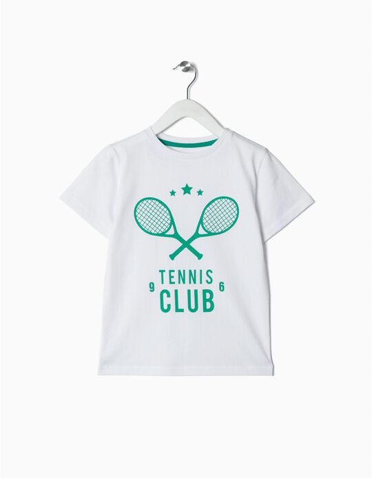 T-shirt Tennis club