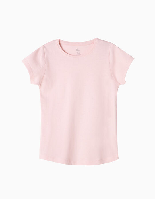 Basic T-Shirt, Light Pink