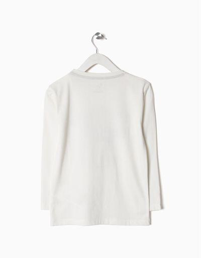 T-shirt manga comprida polo