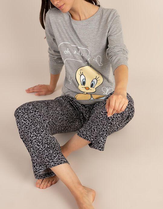 Conjunto de pijama com estampado Looney Tunes