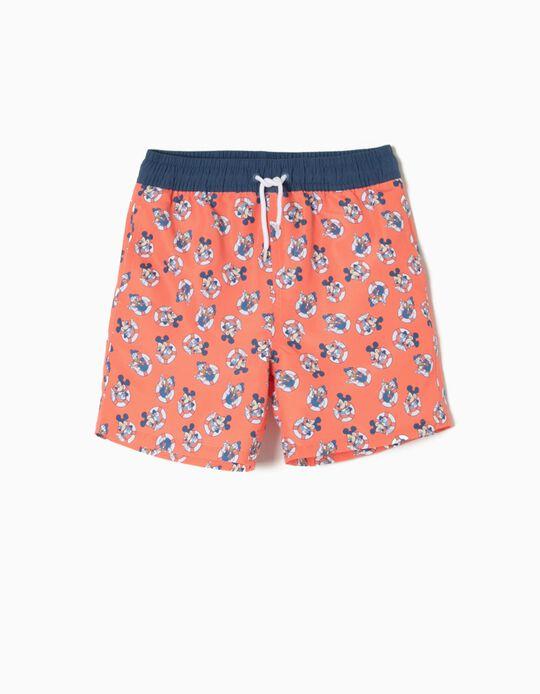 Calções de Banho Coral Mickey & Donald