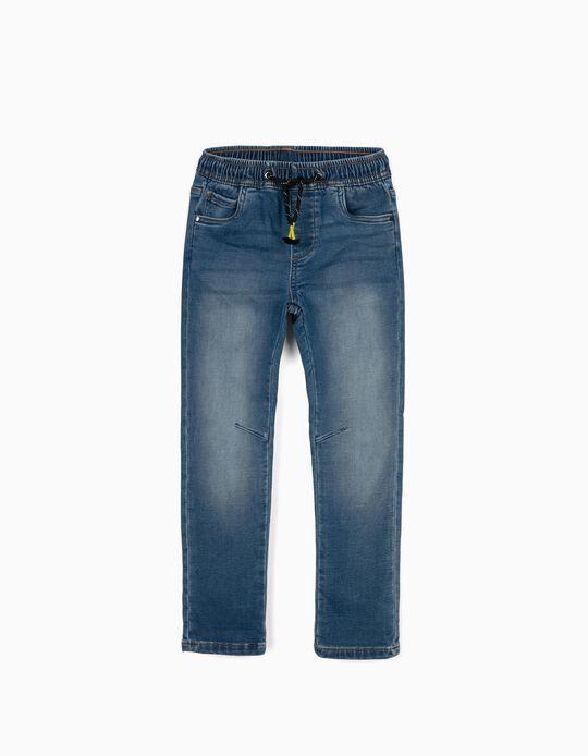 Denim Trousers for Boys, Blue