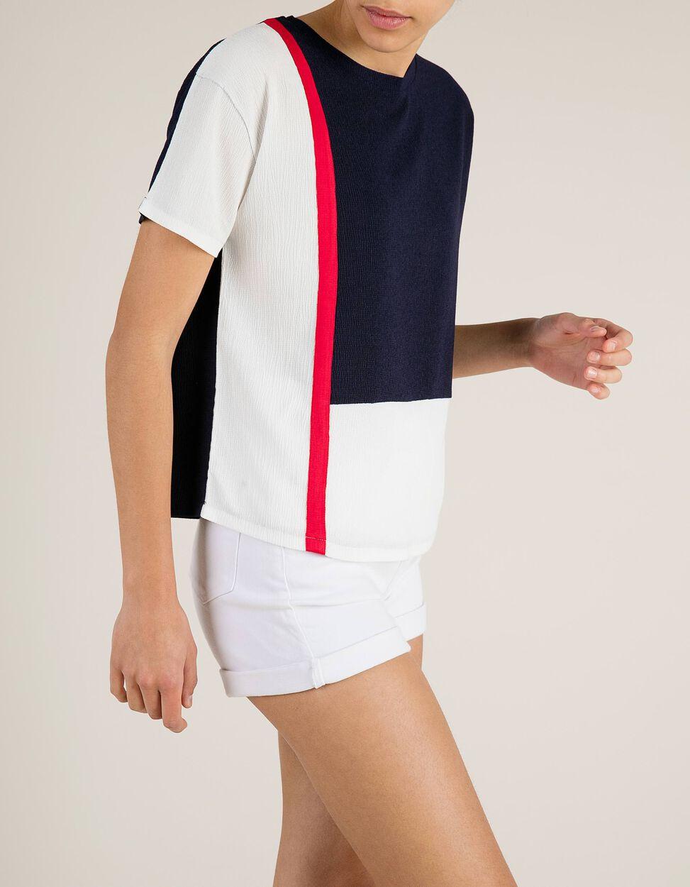 T-Shirt Cores Contrastantes