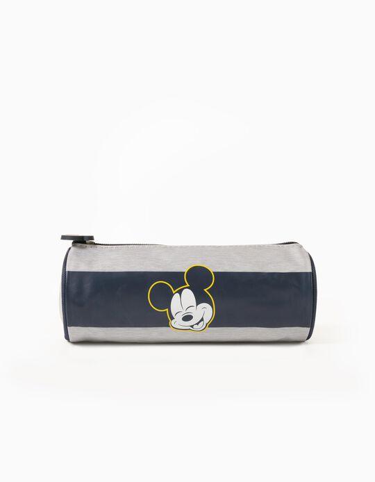 Pencil Case for Boys 'Mickey', Grey/Blue