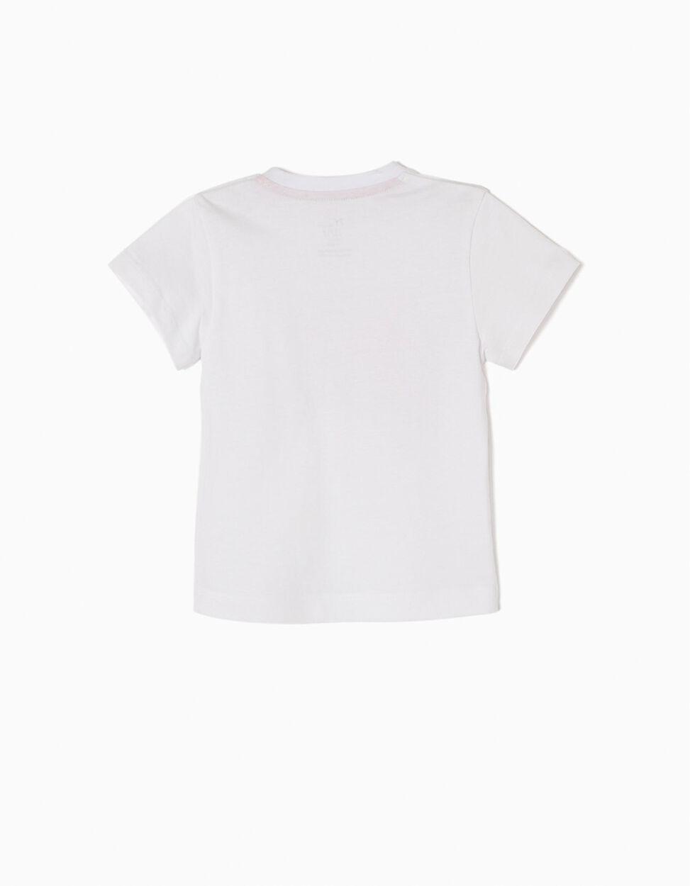 T-shirt Basebol Cinzenta