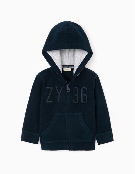 Polar Jacket for Baby Boys 'ZY 96', Dark Blue