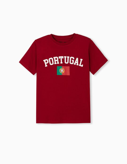 Portugal' T-shirt for Children, Red