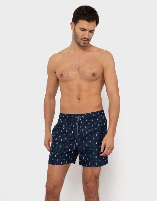 Anchors' Swim Shorts, for Men