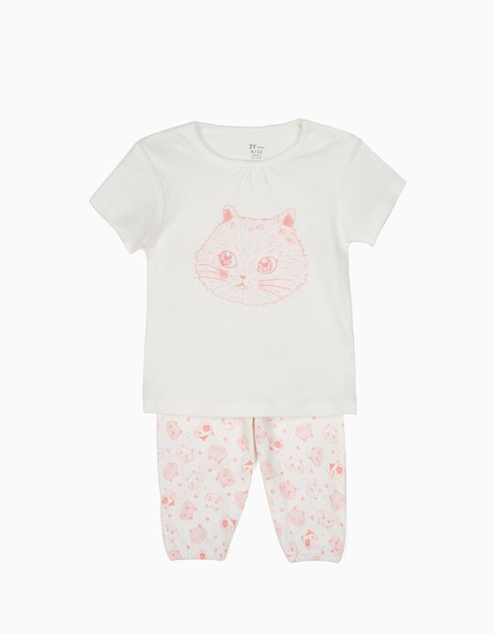 T-Shirt & Trouser Pyjamas, Cats