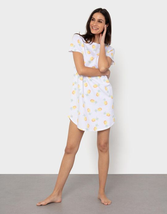Nightie for Women, 'Pineapple'