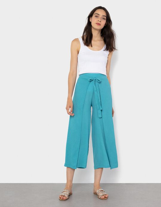 Rib Knit Top for Women, White