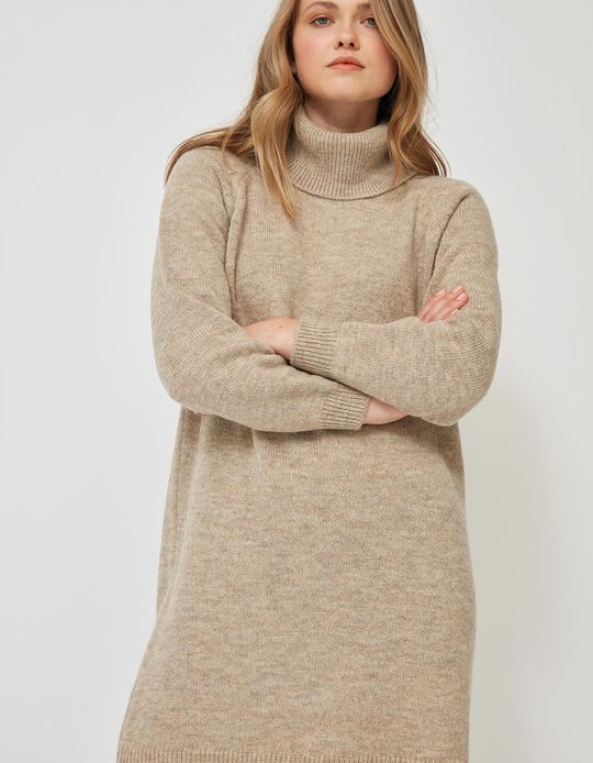 Knitted Marl Dress, for Women