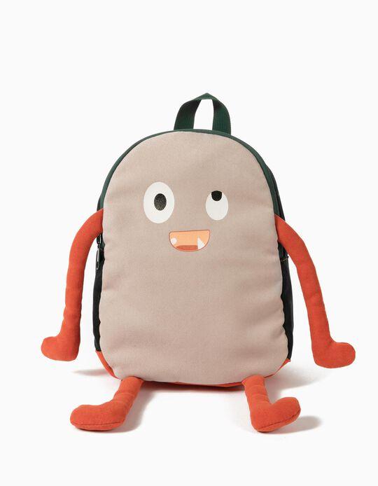 Backpack for Children, Blue/ Beige