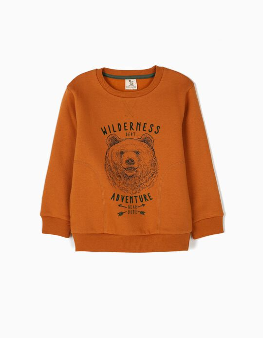 Sweatshirt Wilderness Adventure Camel