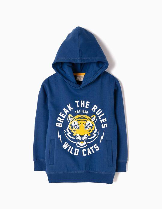 Sweatshirt Wild Cats Azul