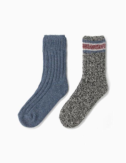 Woollen Socks, Pack of 2 Pairs