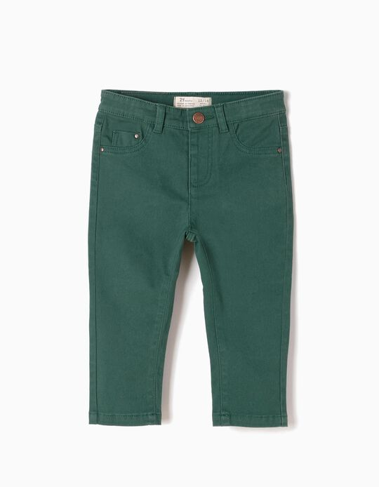 Calças de Sarja Verdes